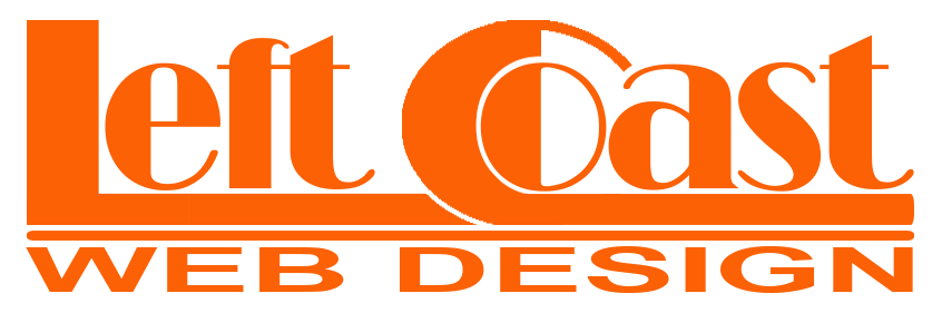Left Coast Web Design Logo
